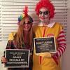 Halloween Party Mugshot 2 (jaymontgomery) Tags: party halloween idea fat police line christian mugshot joker ronaldmcdonald scaryclown guilty lineup sinners demented letterboard imnotlovinit fatronald