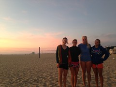 Girls Sunset Beach