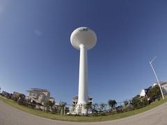 GoPro Water Tower (ericcubs) Tags: water watertower atlanticocean oceanisle gopro goprohero goprohero3