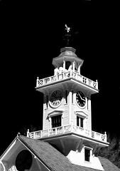 The Clock Tower (GailF45) Tags: tower clocktower weathervane chapeltower