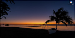 Florida Life: Islamorada Sunrise (Thncher Photography) Tags: sony a7r2 sonya7r2 ilce7rm2 zeissfe1635mmf4zaoss fx fullframe longexposure scenic landscape waterscape oceanscape nature outdoors sky colors shadows silhouettes sunrise tropical beach floridakeys islamorada themoorings florida southflorida atlanticocean sand palmtrees