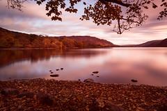 Ulllllllllllllswater (Esox2402) Tags: longexposure lakedistrict lake ullswater dawn sunrise trees water canon rocks landscape long exposure big stopper 10stop