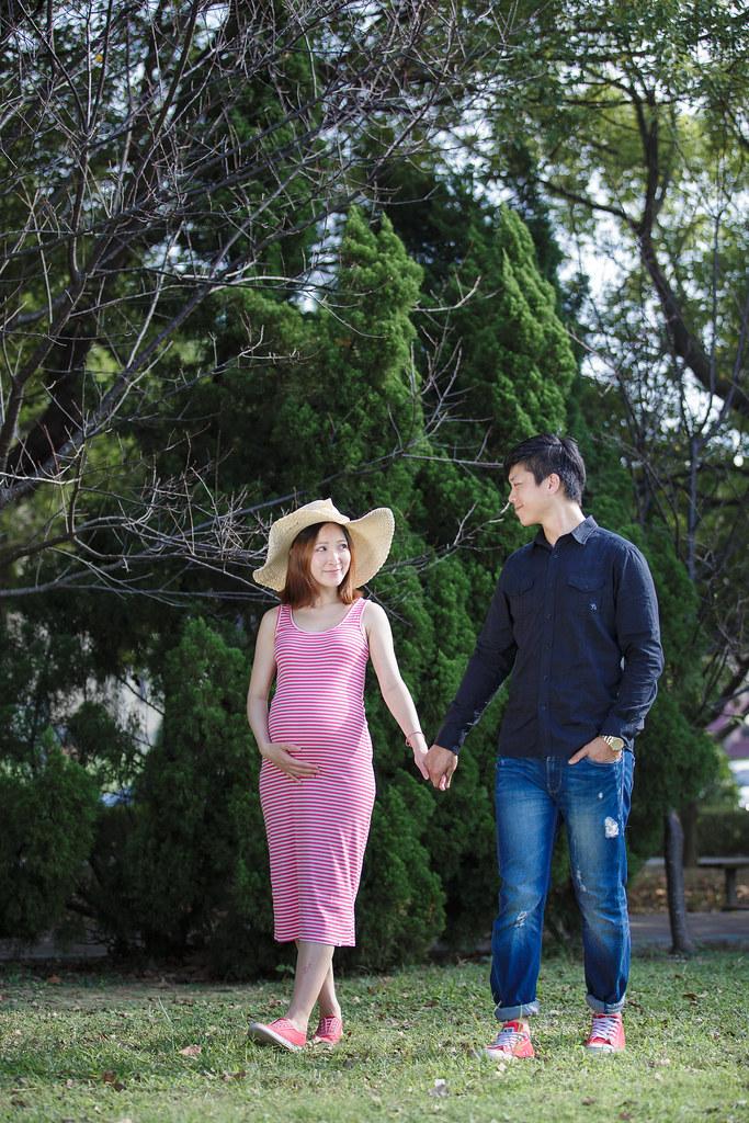 孕婦寫真,孕婦攝影,公園孕婦,稻田孕婦,海邊孕婦,時尚孕婦,Lion&Lys20