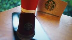 Starbucks 聖誕季 (MikeLau_) Tags: coffee starbucks latte starbuckscoffee toffeenutlatte