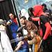 Marvel Comics cosplayers
