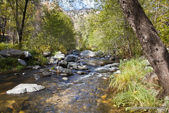Oak Creek (doveoggi) Tags: longexposure arizona water creek sedona canyon 1779 oakcreek