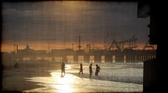 Frolicking In A C (Groovyal) Tags: ocean sea vacation sun art beach water fun photography newjersey sand surf waves shore atlanticcity boardwalk frolick frolicking theboard groovyal frolickinginac walktheboards