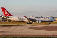 Turkish Airlines --- Airbus A330-200 --- TC-JIV (Drinu C) Tags: plane aircraft aviation sony airbus dsc turkish a330 mla a330200 turkishairlines lmml hx100v adrianciliaphotography tcjiv