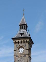 Clock Tower at Knighton, Powys (ChurchCrawler) Tags: clocktower knighton powys trefyclawdd radnorshire guesswhereuk gwuk haddonbrothers gchaddon