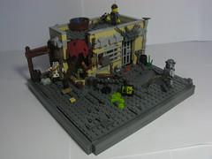 post apocalyptic survival (Militarymocs) Tags: lego moc brickarms postapoc