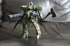HG 1:144 EB-06 Graze - IRON BLOODED ORPHANS (Marco Hazard - Knight of Ren) Tags: mobile iron gun orphans suit gundam hg minigun graze blooded gatling eb05