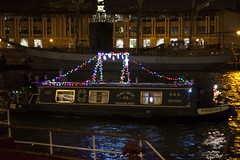 Illuminated Boat Parade (Jesique21) Tags: bristol boats christmaslights 5d harbourside