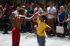 Sydney Street Performance (alzak) Tags: street new eve kids mall children nye crowd performance sydney american years pitt performers hi5 2015 pittstreetmall