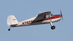 Cessna 120 N76282 (ChrisK48) Tags: 1946 aircraft airplane cessna120 dvt kdvt n76282 phoenixaz phoenixdeervalleyairport