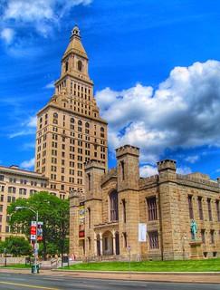 Hartford Connecticut~ Traveler Insurance Tower ~ Wadsworth Anthenum Museum