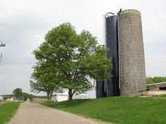 IMG_5802 (johnr7950) Tags: farm silo grain wisconson rural