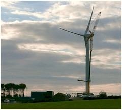 Things to come. (brian.batters (B-C-B)) Tags: porthcawl newtondown thebeacons windturbine