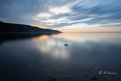 Early morning in Tadoussac (Ali Yamaner) Tags: early morning tadoussac canada quebec kanada saint laurent stream blue hours