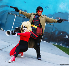 IMG_8258 (willdleeesq) Tags: cosplay cosplayer cosplayers longbeachcomiccon longbeachcomiccon2016 lbcc lbcc2016 longbeachconventioncenter dccomics harleyquinn redhood