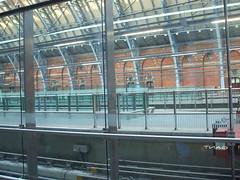 All of St Pancras Eurostar platforms empty during a quiet period. (DesiroDan) Tags: highspeed1 stpancrasinternationalstation eurostar railwaystationsintheuk