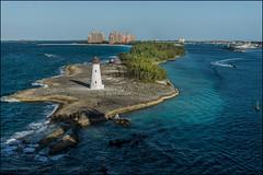 Bah_L_180-20160229-_NAS2541- (TonyHa) Tags: 2016tripcaribbeannikond810nassaubahamas nassau bahamas caribbean tropical lighthouse blue water ocean tony hadley d810 atlantis hotel boat