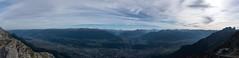 Nordkettenblick_Panorama_blended_fused (Jan Balgemann) Tags: nordkette mountain berg alpen alps innsbruck austria sterreich