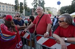 IMGP8767 (i'gore) Tags: roma cgil sindacato lavoro diritti giustizia pace tutele compleanno anniversario 110anni cultura musica