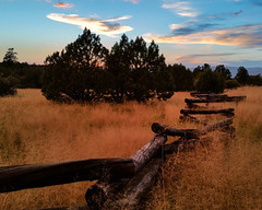 ShooFly Ruins (Kyle French) Tags: shoofly ruins payson arizona western fence sunset warm hff