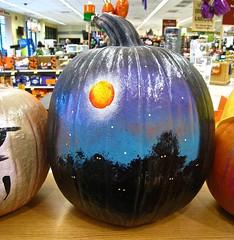 prettily painted pumpkin :) (muffett68 ) Tags: painted pumpkin odc gettingready ansh scavenger10