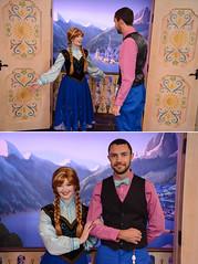 Twins? (keenan.disphoto) Tags: epcot anna waltdisneyworld character frozen baylake florida dapperday norway
