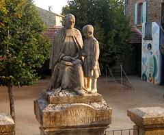 Hommage au Frre SERDIEU (MAPNANCY) Tags: sataue cole frre cour hommage