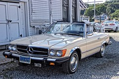 1980 Mercedes Convertible (robtm2010) Tags: mystic connecticut usa newengland canon t3i car auto automobile motorvehicle vehicle convertible mercedes 1980