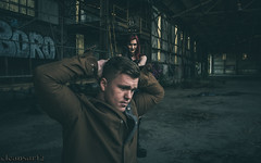 Carro & Goth - Hostage 16x10 DSC7966 (cleansurf2 - Portrait portfolio) Tags: people portrait cosplay theme theater goth hostage gun costume character cinematography exposure colour color costuming cool cinematic vibrant background naughty modelmayhem grime graffeti figure dark drama deadly disturbed demented darkdeviations sony scary soldier strange a7ii abandoned wallpaper edgy emount escape weird widescreen warehouse rustic roleplay effects rifle texture outfit performer photography photographer ilce ilce7m2 interesting industrial urbex underground ultra underworld conceptual