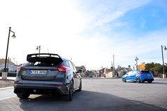 Ford Focus RS (Tony, M.) Tags: ford focus rs 2016 combo valencia spain blue grey tony mulli