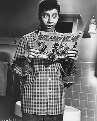 Jerry lewis reads comics (Michael Vance1) Tags: comedian comics comicbook cartoonist funny movies tv