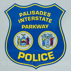 Palisades Interstate Parkway Police Emblem, New Jersey-New York (jag9889) Tags: jag9889 usa englewoodcliffs policedepartment text emblem sign police palisadesinterstatepark newjersey outdoor 2016 bergencounty 20161024 palisadesinterstateparkway firstresponder gardenstate lawenforcement nj newjerseysection pip palisades park unitedstates unitedstatesofamerica us