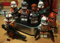 Obi Wan's Batallion (LordAllo) Tags: lego star wars clone obi wan kenobi commander cody utapau troopers