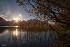 Herbsttag am Mondsee ..... (Claudia Brockmann) Tags: austria sterreich water wasser see sea mondsee sundown autumn herbst langzeitbelichtung longexposure