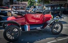 A Red Model T Ford (Charlie Day DaytimeStudios) Tags: ca california car carshowoldracecars fremont fremontca modeltclub nilesca oldcars