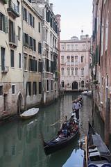 Gondolier (My Italian Sketchbook) Tags: venice italy outdoor landscape venezia italia canal canale gondoliere gondolier gondola