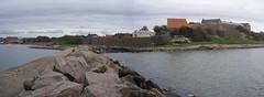 Vid Varbergs fästning 2008 (1) (biketommy999) Tags: varberg halland 2008 biketommy biketommy999 sverige sweden kulturminne fästning varbergsfästning panorama havet sea