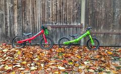 Islabikes Rothan 2012 and 2016 (ChBo) Tags: islabike rothan kids bike 2012 2016 islabikes