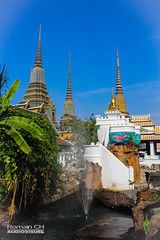 Thaï Color (CH-Romain) Tags: thailand temple culte cult bouddhisme bouddiste bouddhist bangkok asie asia asiatique thai thailandais