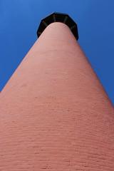 Look up. Look waaaay up.... (jmaxtours) Tags: jupiter jupiterflorida jupiterinletlighthouse jupiterlighthouse lighthouse red fla fl florida usa 1860 lieutenantgeorgegmeadedesigner