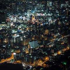 Harukas  Osaka () Tags: olympus penf  osaka  japan  kansai panasonic dg 425mm f12 harukas