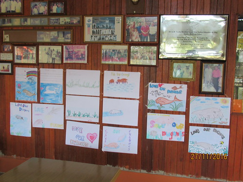 Dugong Posters from the Participants at the Village