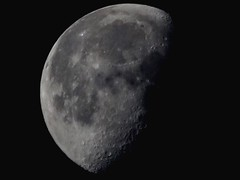.11.19.16. ~ Waning Gibbous Phase (allyson.marie) Tags: canon dark black wonder nature landscape sky moonphases moon lunar luna