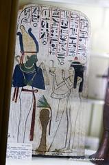 Stele of Queen Neskhons (konde) Tags: wood stele 21stdynasty thirdintermediateperiod tip stela neskhons queen osiris hieroglyphs kush thebes ancient