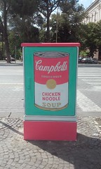 Pop Art in Tirana (Kevin Jasini) Tags: pop art campbell campbells soup can andy warhol tirana albania street painting grafitti tirane shqiperi