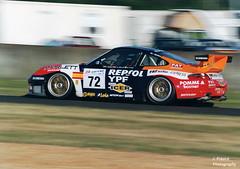 Le Mans 2000 – Porsche 911 GT3-R (Javier Frauca) Tags: car carreras resistencia sport velocidad endurance race motorsport 24 heures hours lemans le mans 2000 porsche 911 gt3r porsche911gt3r nikon f80